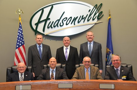 hudsonville city commission