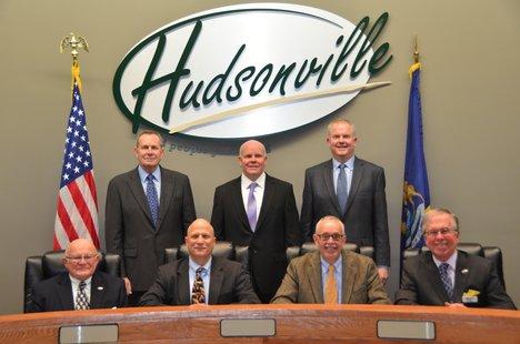 hudsonville city commission